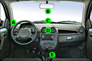 GPS no carro - Qual seu local preferido?