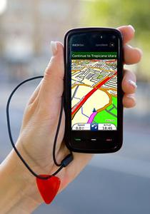 Garmin Mobile XT com touch screen no 5800